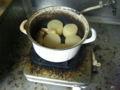 鍋を火にかけたのを忘れてた。スープ全蒸発、部屋煙だらけ