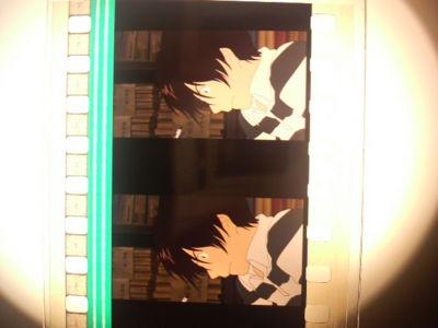 サマウォBD封入のフィルムしおり。健二が男前すぎて激萌え。佳主馬が