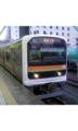 八高線が信号トラブルの影響で運転を見合わせていた関係で箱根ヶ崎行