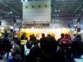 ステージ中。昨日よりも人がたくさん。ツーリングがてら来るにも良い