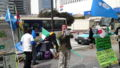 南モンゴル独立応援街宣。シナによる南モンゴル弾圧に抗議する永山隊