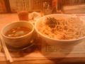 高崎駅前でつけめん。超旨かった。過去に食ったつけめんの中で一番旨