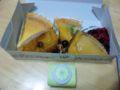 誕生日プレゼントもらった!(^^)!幸せ〜