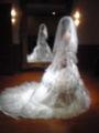 娘です♪ 衣装合わせをしました。可愛い花嫁になることでしょう