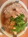 昨日食べた台湾チャーシュー麺@藤一番。日曜に味仙の台湾ラーメン食