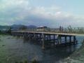 渡月橋なう