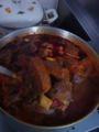 メキスープ仕込み中。牛タンの厚み2〜2、5cm。これシチューにして