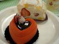 神戸スイーツ始めは、洋菓子フェスタでイートイン。