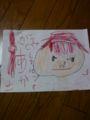 5歳の子供作…赤髪のシャンクス。  すげぇ。
