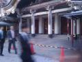おつかれサンタクロース、歌舞伎座。