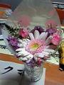 母の日なう。ささやかながらお花。