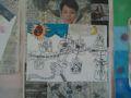 ファソン君の傑作。「神様の見守る街」。新聞に載っていた樋口可南子