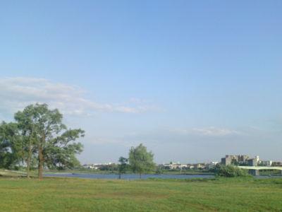久しぶりに多摩川ジョギングしました。8月と9月舞台立つこと決まって