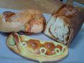アンデルセンのパン 今月の童話のパン(えんどう豆)、フォルマッジ