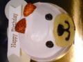 前に誕生日に頂いたケーキその1