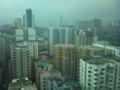 香港の事務所から撮影。今日のメインイベントは夕食だし。