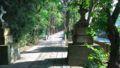 久伊豆神社へ到着しました。娘のお宮参り、七五三もこちらでした。