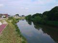 元荒川です。この河があるからこの街がある。そんな感じでしょうか。