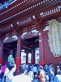 浅草寺は三社祭なう。活気が凄くてあっつい。