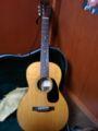 最近のメインギターMARTIN 00-21。新品で買ったけどだいぶ味わいが出てき