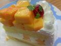 『三びきの子ぶた』もりもりマンゴーのマンゴーショートケーキ♪  生