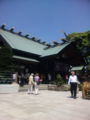 東京大神宮にきています。会社の昼休み。今日はあついな〜