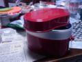 飯盒発見。新品もらったの忘れてた。持っていこう。スープ用。