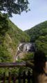 袋田の滝なう。水すげぇ!