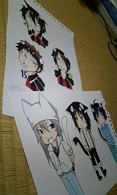 静コミのラミカ〜ジャイキリとバクマン三枚ずつ制作!!予定より早く終