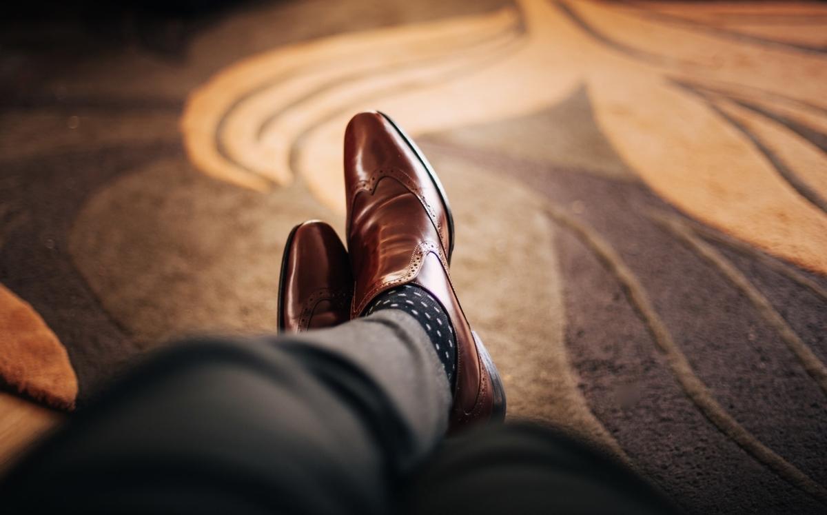 50代 父の日 靴下