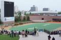 新装札幌競馬場パドック
