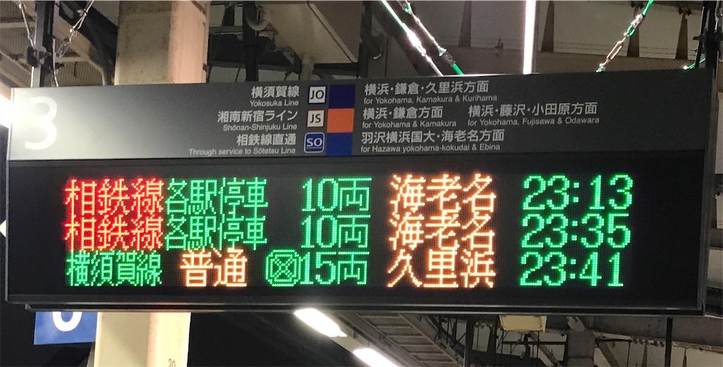 相鉄直通列車が遅延して他の列車より後の運転順序となった場合