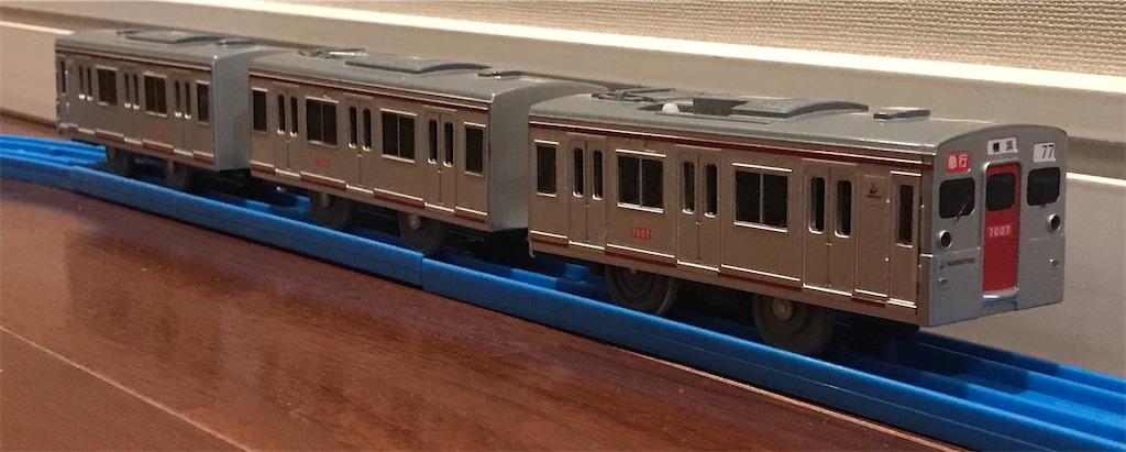2012年から限定販売されていた相鉄7000系プラレール
