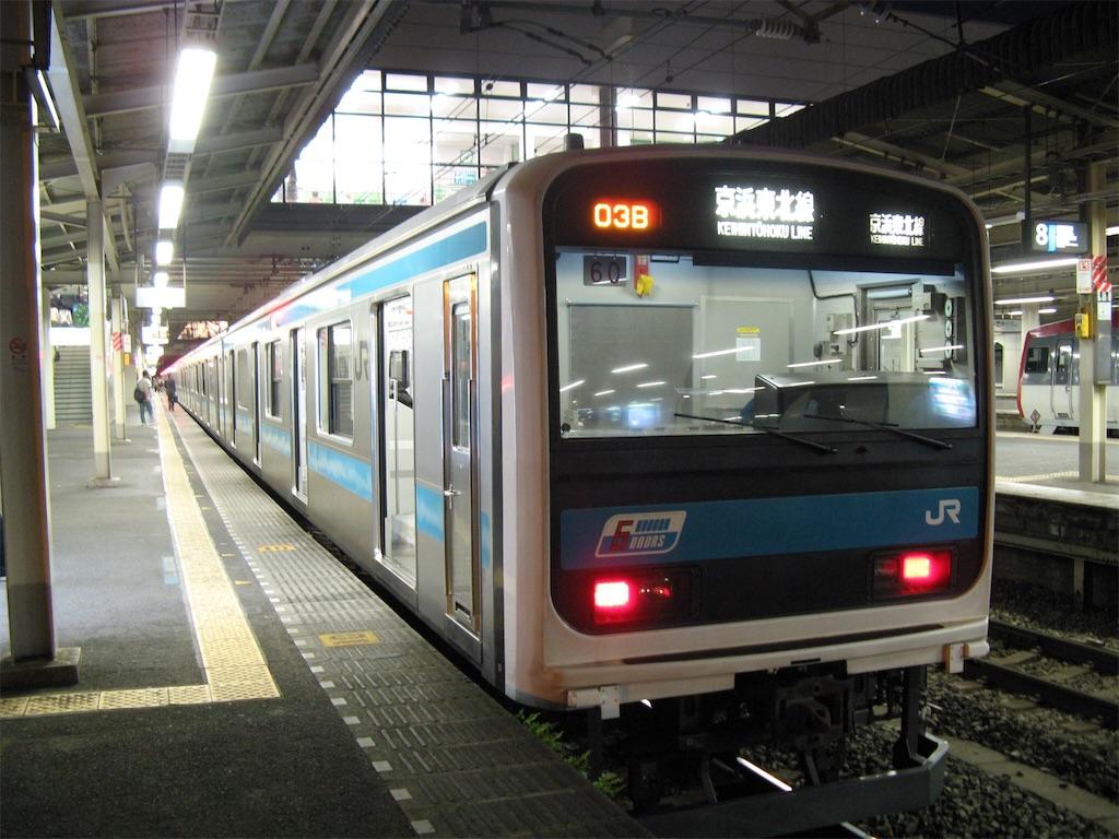 209系「京浜東北線」前面(2007/5/19)