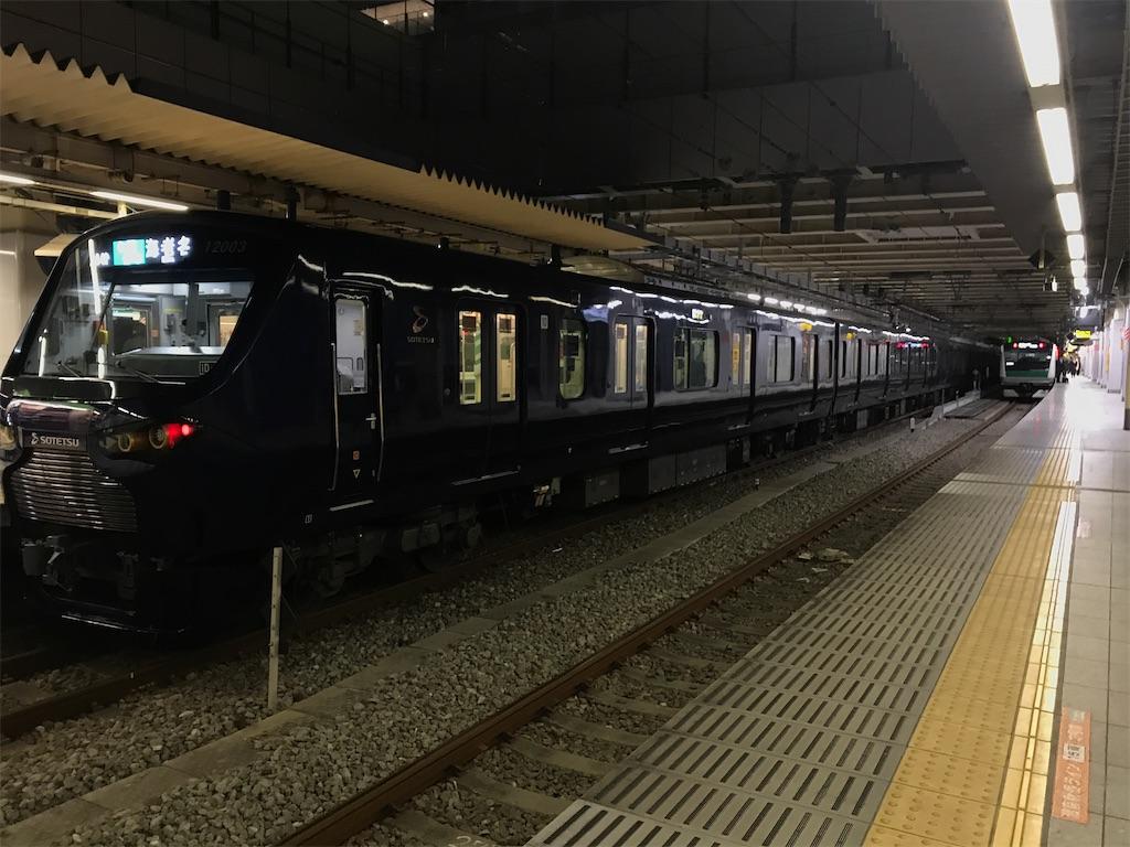 1/6(月)より、17時以降は3番線では相鉄線直通列車、2番線では埼京線大宮方面の始発列車が折り返すように