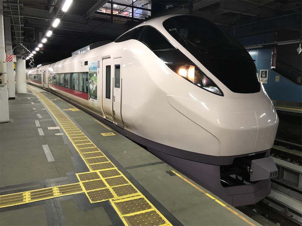 品川駅9番線に停車中のE657系K19編成を10号車側から(2020/3/11)