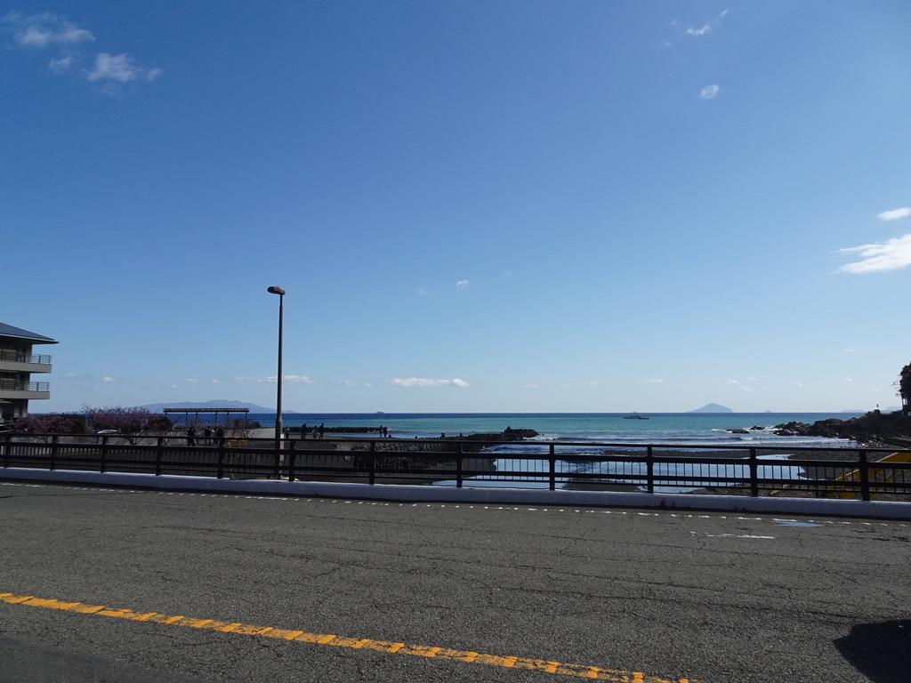 浜橋から海を見渡す(2020/2/11)