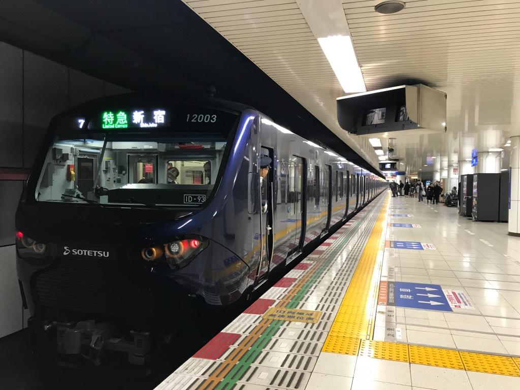 12000系(大和・2019/12/1)