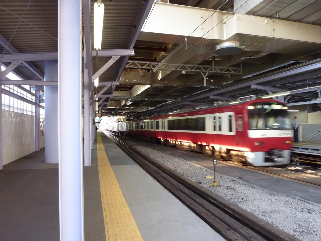 高架化前の糀谷駅