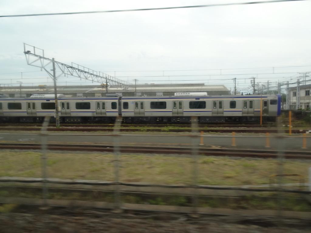 鎌倉車両センターに停車中の横須賀・総武快速線用E235系(2020/6/28)