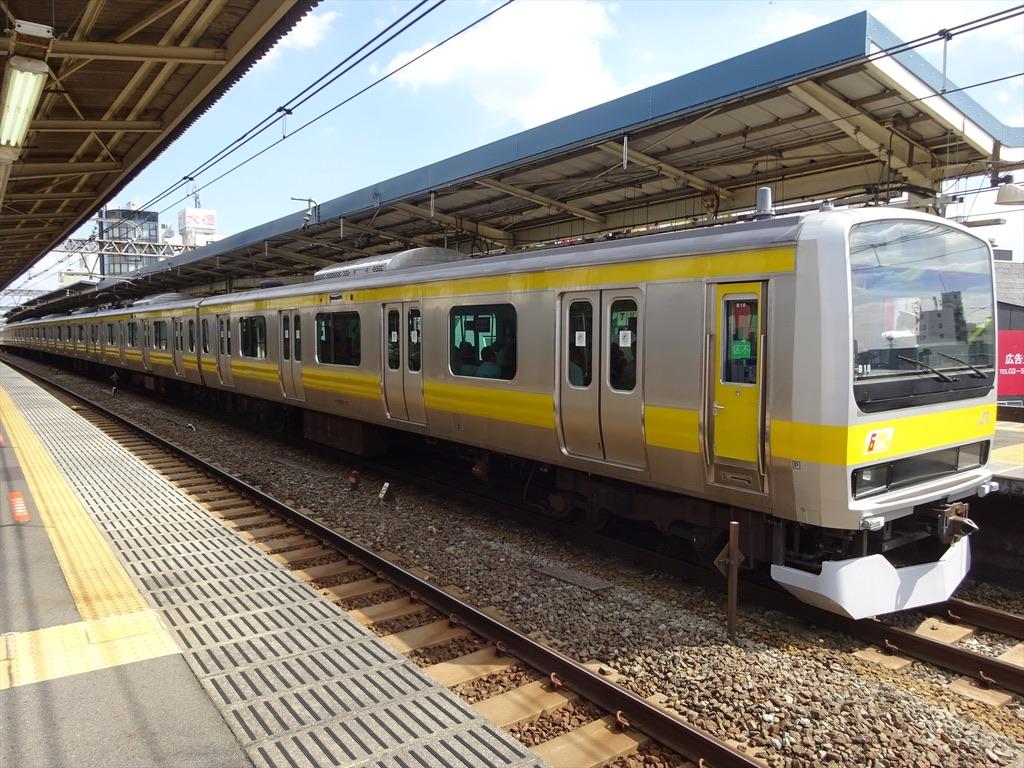 中央・総武緩行線E231系6ドア車(2014年9月)