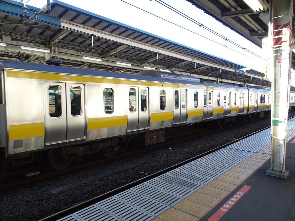中央・総武緩行線E231系6ドア車(2020年1月)