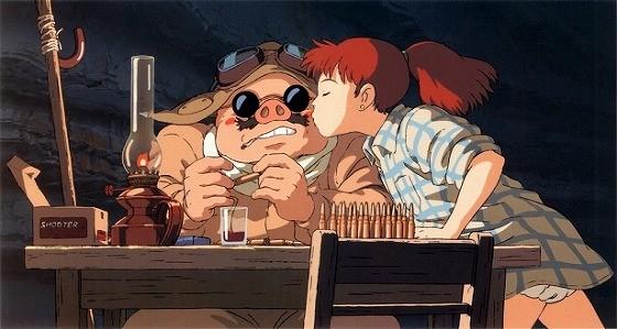 紅の豚とフィオ