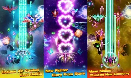 スタープレーンシューティングゲーム ゲームアプリ紹介画像