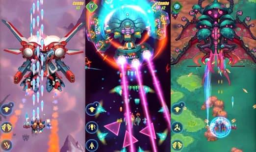 HAWK – 宇宙のゲーム シューティングゲーム ゲームアプリ紹介画像