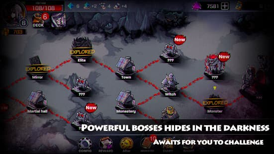 Lophis Roguelike-Card RPG game,Darkest Dungeon ゲームアプリ紹介画像
