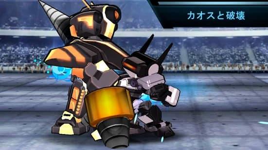 超機動闘神 カオスや破壊の要素を上手く織り交ぜられているゲームアプリ