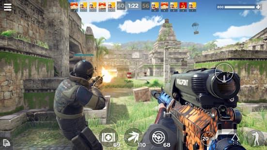 AWPモード: エリートオンライン3Dスナイパーアクション プレイ中の様子の写真