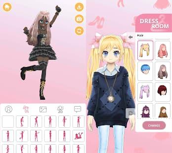 Girl-Styledoll Fashion Show ゲームアプリ紹介画像