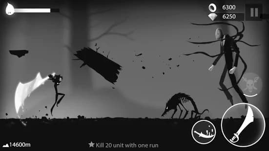 Stickman Run プレイ中の写真